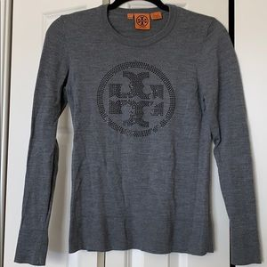 Tory Burch Logo Sweater
